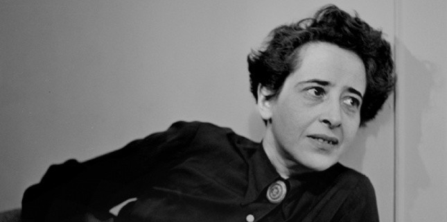 the work of hannah arendt denise levertov and charles reznikoff with regards to the trial of adolf e
