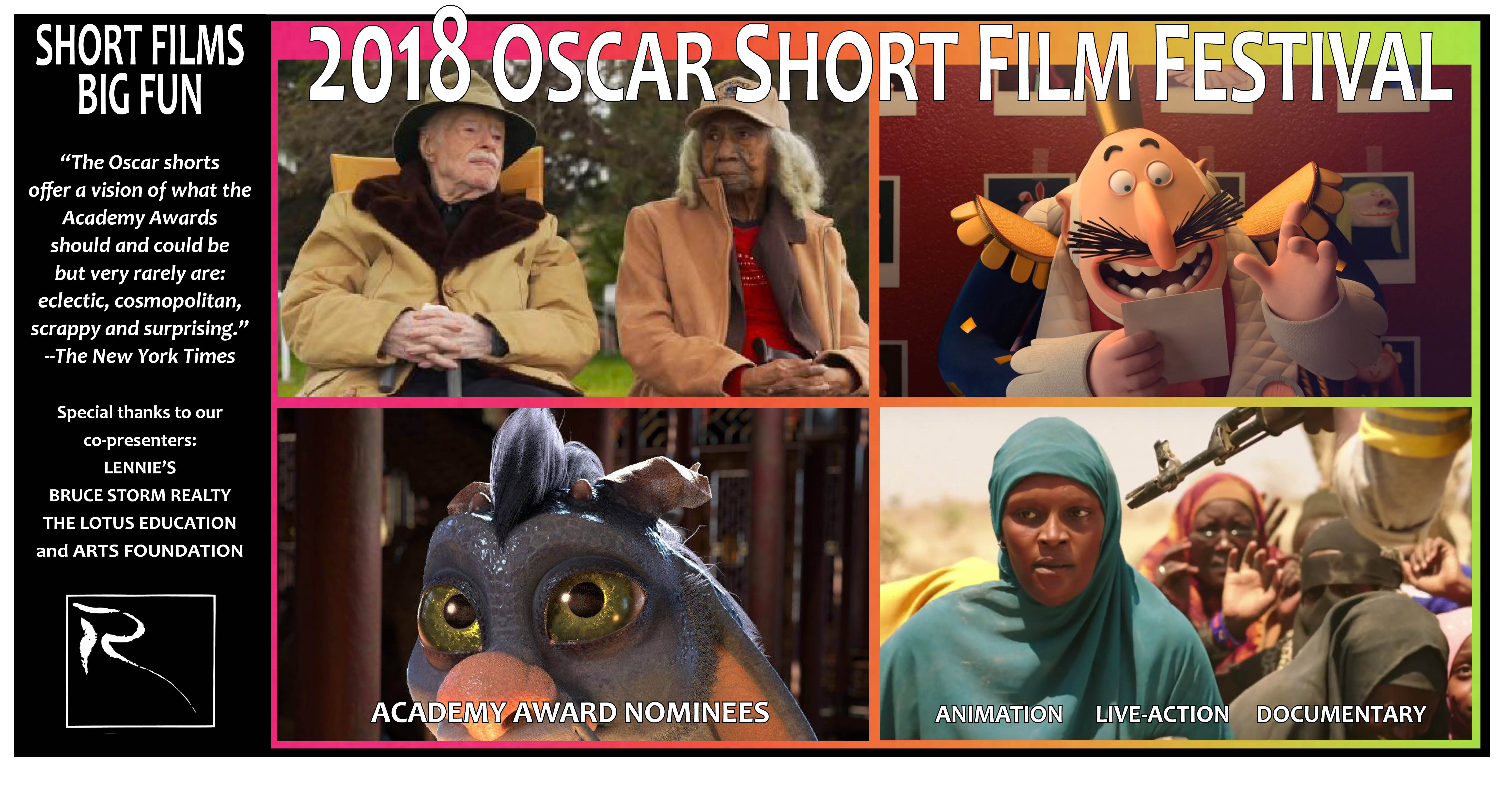 2017 Oscar Shorts poster 11X20 with DOCS