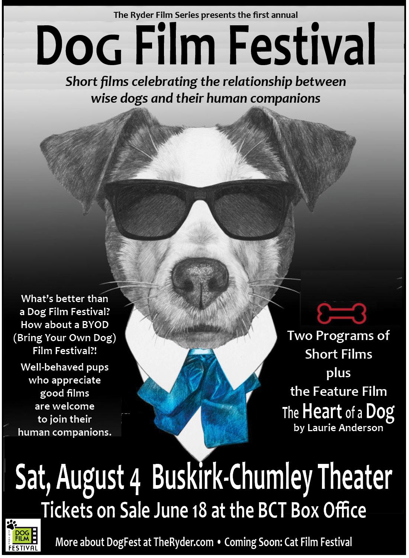 Dog Film Fest Ryder Back Cover